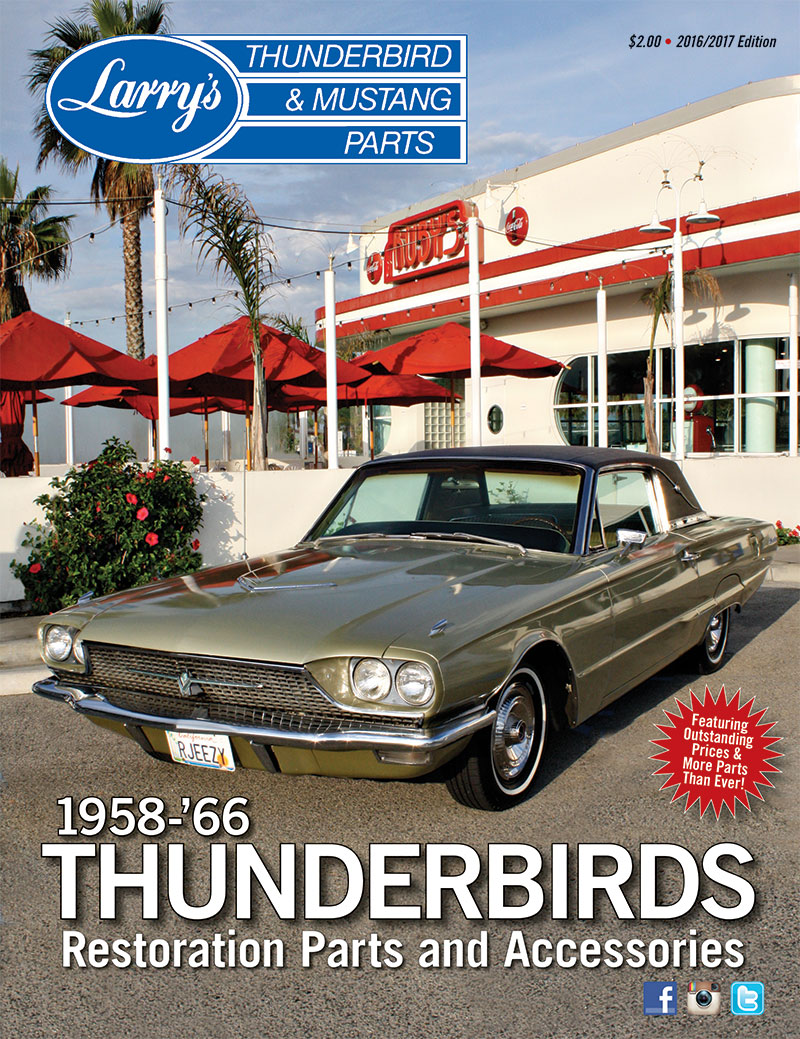 Bpl Larrys 1958 66 Thunderbirds Catalog And Price List 1964 T Bird Wiring Diagram Seat Your Cart