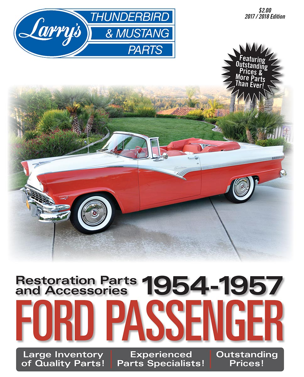 Catalogs Archives Larrys Thunderbird Mustang Parts 1954 Ford Crown Victoria Ppl 57 Passenger Car Catalog And Price List
