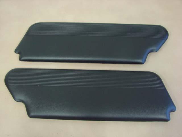 B04104C Sun Visors Black For 1960 Ford Thunderbird (B04104C)