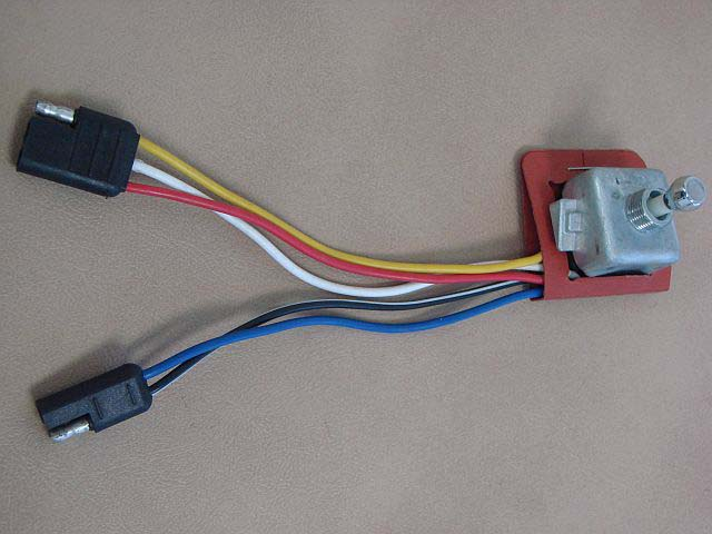B 14701E Seat Switch (3-2 Wire) For Late 1962-1963 Ford Thunderbird (B14701E)