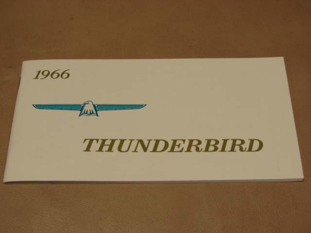 blt om owners manual   ford thunderbird bltom