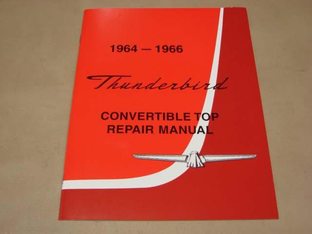 Blt Tr64 Convertible Top Repair Manual 64