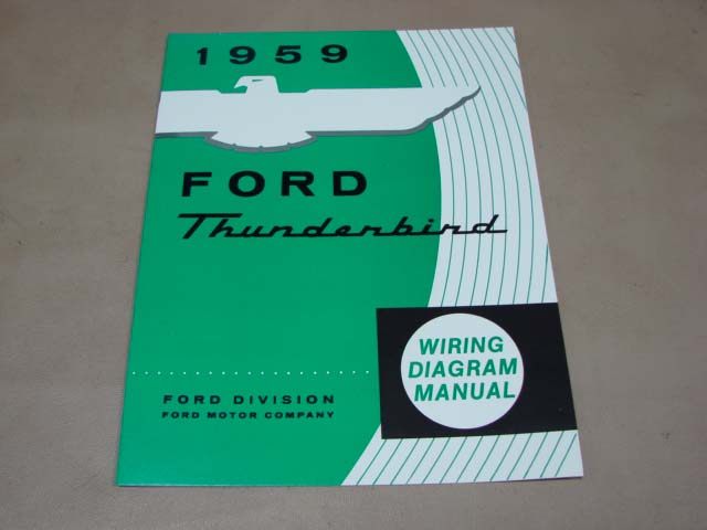BLT WD59 Wiring Diagram 1959 Thunderbird For 1959 Ford ...