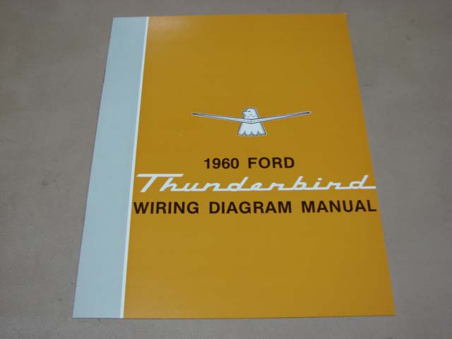 blt wd60 wiring diagram 1960 thunderbird for 1960 ford thunderbird  (bltwd60) - larry's thunderbird & mustang parts