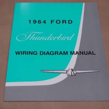 1958 1966 ford thunderbird literature and manuals archives page 3 rh larrystbird com 1995 Ford Thunderbird Wiring Diagram Ford Brake Light Wiring Diagram