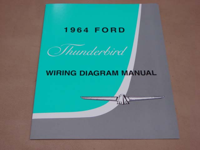 Blt Wd64 Wiring Diagram 1964 Thunderbird For 1964 Ford Thunderbird  Bltwd64