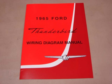 BLT WD65 Wiring Diagram 1965 Thunderbird For 1965 Ford ...