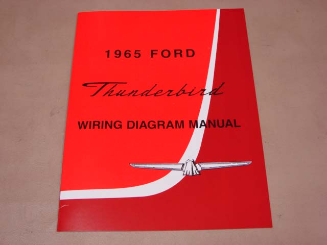 blt wd65 wiring diagram 1965 thunderbird for 1965 ford thunderbird  (bltwd65) - larry's thunderbird & mustang parts