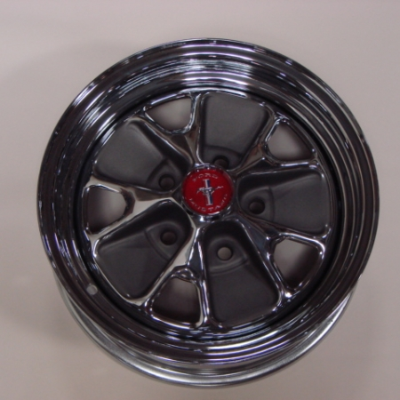 M 1007A Wheel 65 Styled Steel 14 X 5 For 1965 Ford Mustang M1007A