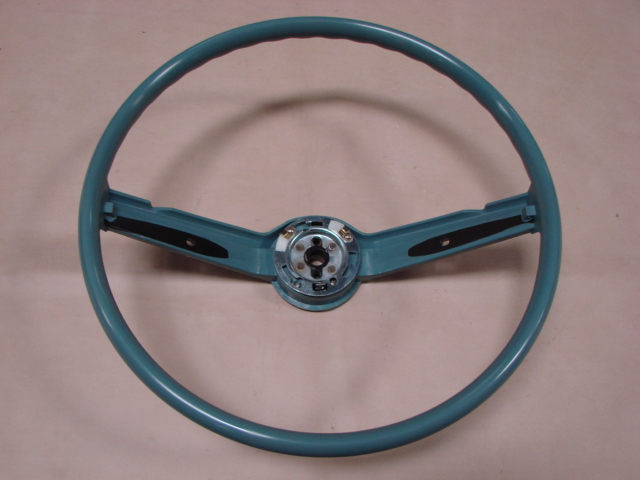 Mustang Hard Top 1969 >> M 360068BU Steering Wheel Blue For 1968-1969 Ford Mustang (M360068BU) - Larry's Thunderbird ...