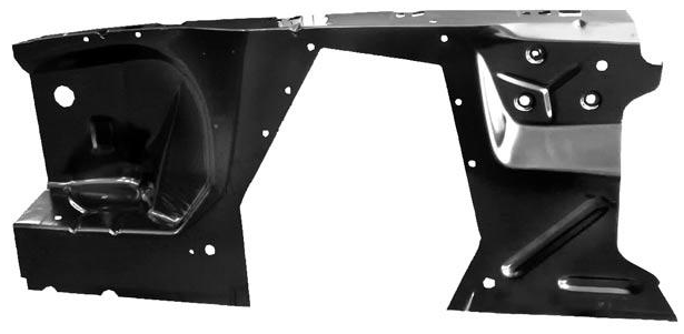 MPP 127CR Fender Apron Complete Right Hand For 1965-1966 Ford Mustang (MPP127CR)