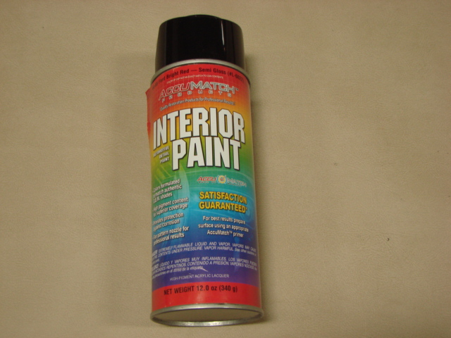 MPT L1 Interior Paint 65 Red For 1965 Ford Mustang (MPTL1)