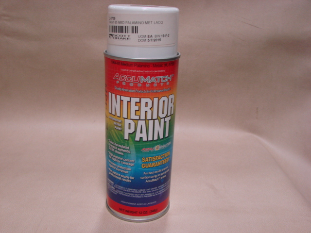 MPT L30 Interior Paint 65 Palomino For 1965 Ford Mustang (MPTL30)