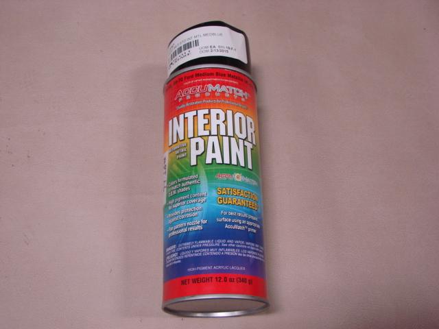 MPT L6 Interior Paint 65 Medium Blue For 1965 Ford Mustang (MPTL6)