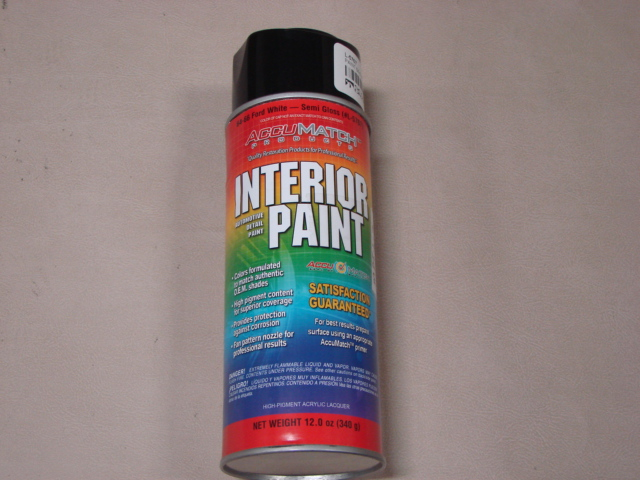 MPT L7 Interior Paint 65 White For 1965 Ford Mustang (MPTL7)