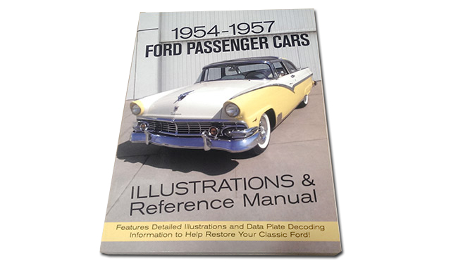1954 1957 ford passenger vehicles literature and manuals archives rh larrystbird com Car Clutch Puring Out Used Car Oil