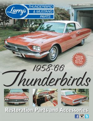 BPL Larry's 1958-66 Thunderbirds Catalog and Price List (BPL)
