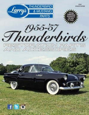 TPL Larry's 1955-57 Thunderbird Catalog and Price List (TPL)