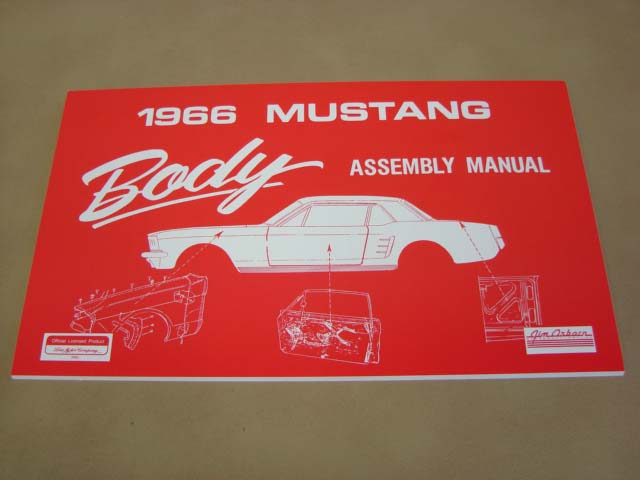 MLT AM11 Body Assembly Manual 66 For 1966 Ford Mustang (MLTAM11)