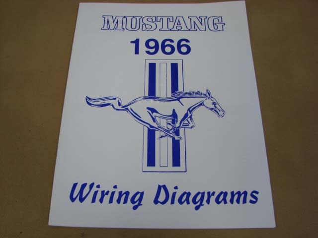 mlt wd66 wiring diagram for 1966 ford mustang  mltwd66