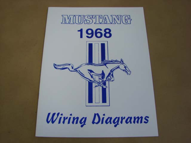 Mlt Wd68 Wiring Diagram For 1968 Ford Mustang Mltwd68 Larry S Thunderbird Mustang Parts