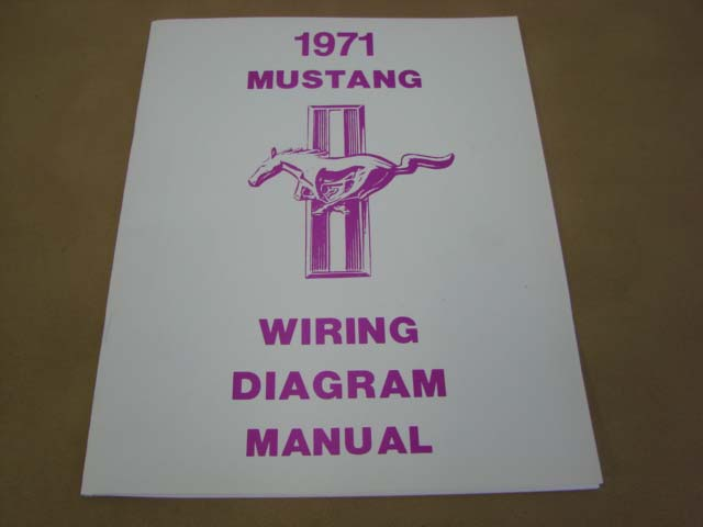 Mlt Wd71 Wiring Diagram For 1971 Ford Mustang  Mltwd71   U2013 Larry U0026 39 S Thunderbird  U0026 Mustang Parts
