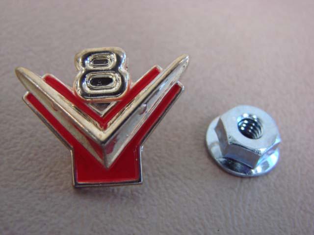 P 3636B Horn Ring Emblem For 1956 Ford Passenger Cars (P3636B)