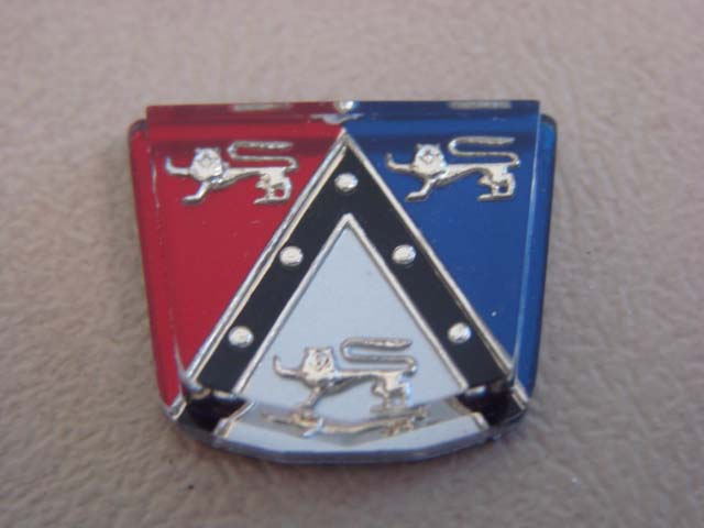 P 04539A Roof Emblem Ford Crest Victoria For 1952-1953-1954 Ford Passenger Cars (P04539A)