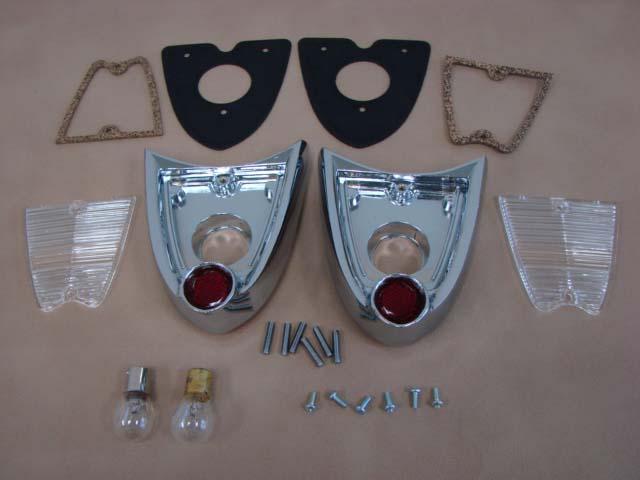 T 13465Q Led Light Panel Pair 12V (Sunburst Signal) For 1955 Ford Thunderbird (T13465Q)