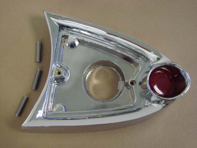 T 13560A Rear License Light Body For 1955-1956 Ford Thunderbird (T13560A)