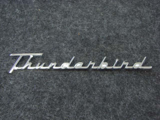 T 25622 Quarter Panel Script For 1955-1956 Ford Thunderbird (T25622)