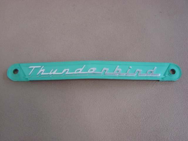 T 278822R Wheelhouse Top Cap Right Hand For 1955-1956-1957 Ford Thunderbird (T278822R)