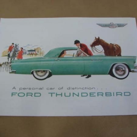 1955 1957 ford thunderbird literature and manuals archives larrys tlt 11 sales brochure color 12 pages for 1955 ford thunderbird tlt11 publicscrutiny Images