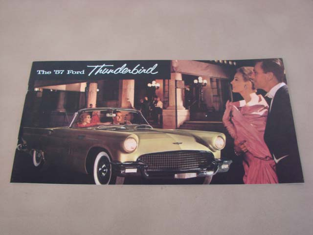 TLT 1 Softtop Illustration For 1955-1956-1957 Ford Thunderbird (TLT1)