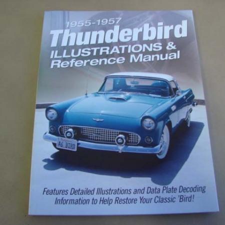 tlt 9 illustrations manual for 1955-1956-1957 ford thunderbird (tlt9)
