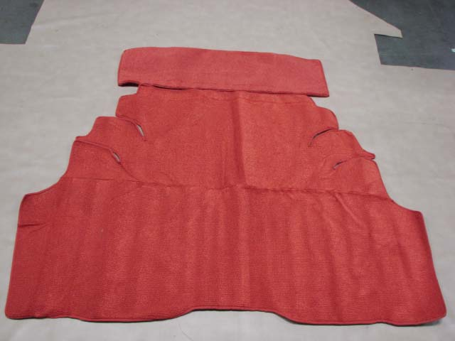 TTM 56RD Carpet Trunk Mat Red For 1956 Ford Thunderbird (TTM56RD) - Larry's Thunderbird ...