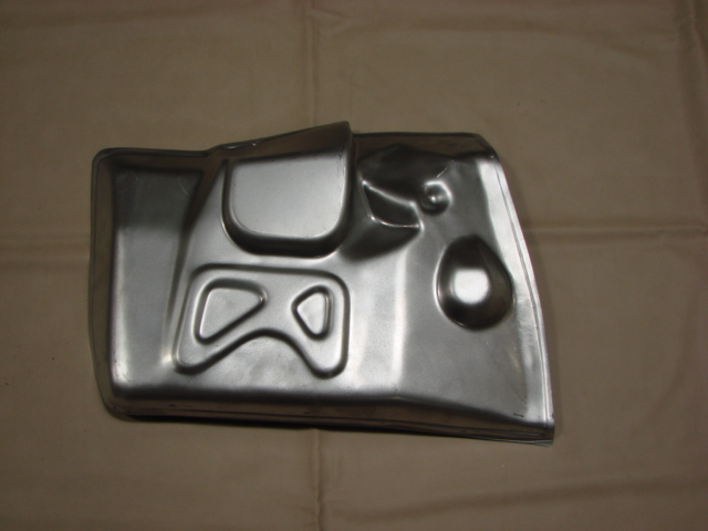 P 11132CL Toe Board Left Hand For 1957-1958 Ford Passenger Cars (P11132CL)