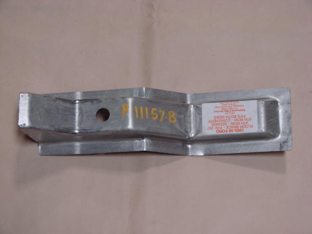 P 11157B 4th/5th Floor Brace Right/Left For 1955-1956 Ford Passenger Cars (P11157B)