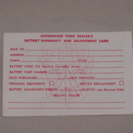 1954 1957 ford passenger vehicles decals archives larrys pdf 117 battery warranty card for 1956 1957 ford passenger cars pdf117 publicscrutiny Images