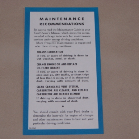 1954 1957 ford passenger vehicles decals archives page 4 of 5 pdf 76 owners manual maintenance insert for 1955 1956 1957 ford passenger cars pdf76 publicscrutiny Images