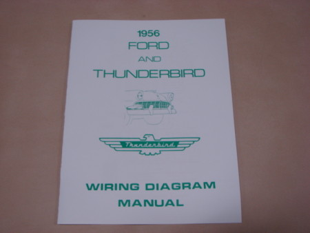 PLT WD56 Wiring Diagram For 1956 Ford Penger Cars (PLTWD56)  Ford Wiring Diagram on
