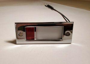 B 13786C Lamp Housing Door for 1965-1966 Ford Thunderbird (B13786C)