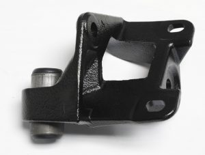P 3351A Idler Arm Bracket (with power steering; bushing included) for 1957-1958-1959 Ford Passenger Cars (P3351A)